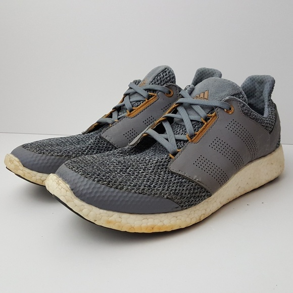 463d26283 adidas Other - Adidas Pure Boost 2.0 grey gold size 12.5 mens